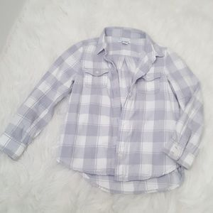 *BACK TO SCHOOL* Old Navy plaid button shirt